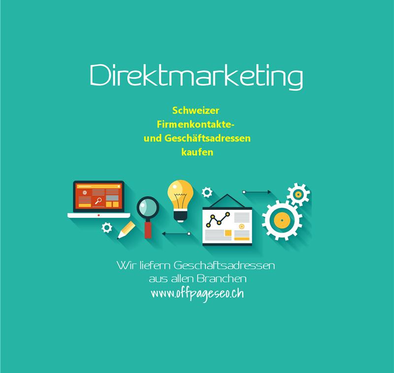 Schweizer Firmenkontakte kaufen offpage seo schweiz
