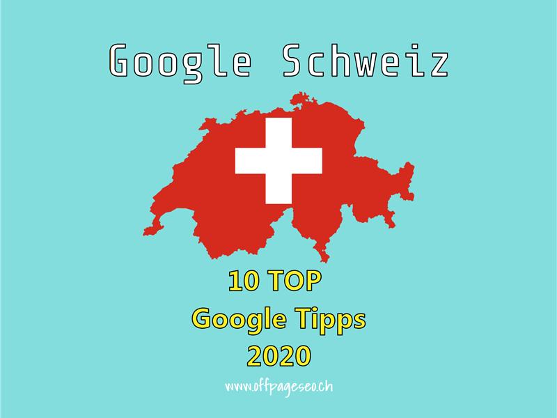 google schweiz TOP
