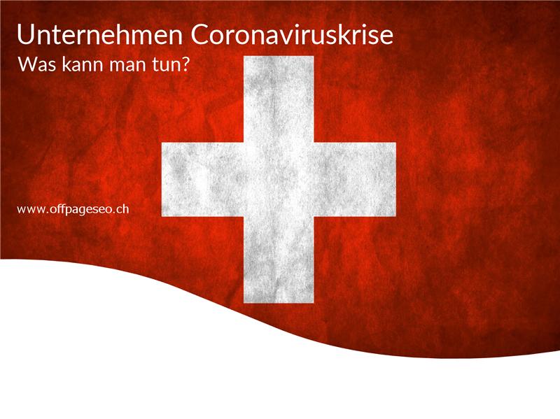 Unternehmen Coronaviruskrise OffpageSEOSchweiz